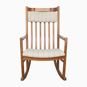 Rocking Chair par Hans J. Wegner pour Tarm Stole, 1960s