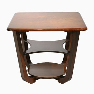Table d'Appoint Art Déco à Deux Niveaux de Tenax Freedlands LTD, France, 1930s