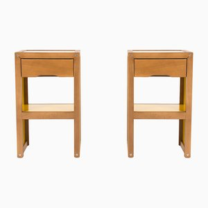 Vintage Nightstands by André Sornay, 1960s, Set of 2