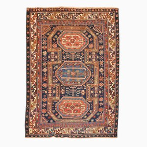 19th Century Wool Caucasus Shirvan Rug of Geometrics Designs