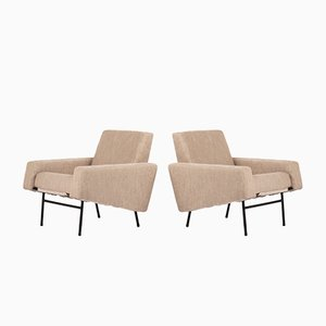 G10 Armchairs by Pierre Guariche for Airborne, 1950s, Set of 2