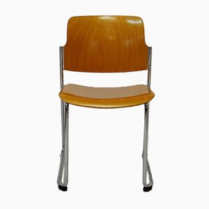 Plywood Chair for Drabert, 1970s