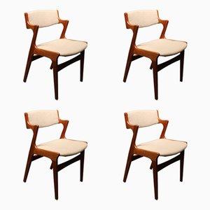 Sedie da pranzo di Nova, anni '60, set di 4