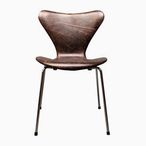 Silla modelo 3107 de Arne Jacobsen de Fritz Hansen, años 60