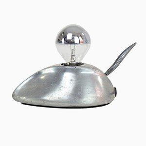 Vintage Maus Lampe aus Stahl