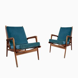 Vintage Sessel von Cerutti, 2er Set