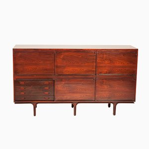 Rosewood Sideboard by Gianfranco Frattini for Bernini, 1957