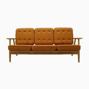 GE240/3 Sofa von Hans J Wegner Sofa für Getama, 1950er