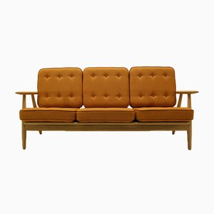 GE240/3 Sofa von Hans J Wegner Sofa für Getama, 1990er