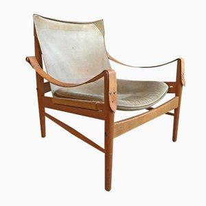Safari Chair by Hans Olsen for Viskadalens Möbler, 1960s