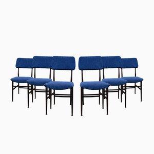Esszimmerstühle von Vittorio Dassi für Edmondo Palutari, 6er Set