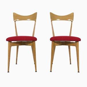 Beistellstühle von Ico Parisi & Luisa Parisi für Ariberto Colombo, 1947, 2er Set