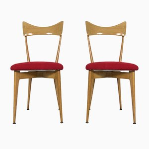 Side Chairs by Ico Parisi & Luisa Parisi for Ariberto Colombo, 1947, Set of 2