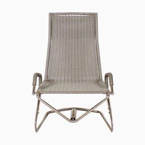 Vintage D36 Floating Armlehnstuhl von Jean Prouvé für Tecta