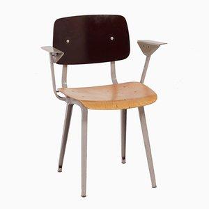 4065 Revolt Chair with Armrests by Friso Kramer for Ahrend De Cirkel, 1950s