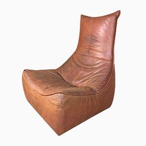 Silla The Rock de cuero coñac de Gerard van de Berg para Montis, años 70