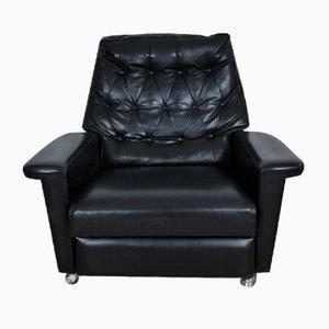 Vintage Kunstleder Sessel