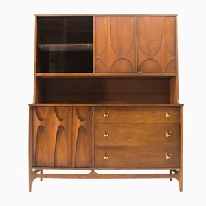 Sideboard with Upper Showcase Section from Broyhill Brasilia, 1960s