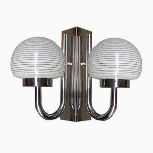 Lámpara de pared de Industrias Luz, años 60