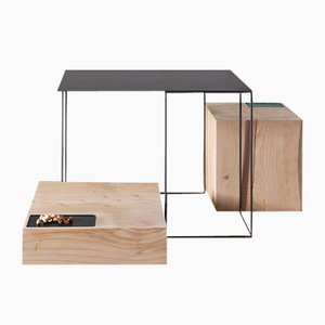 Tables Basses Brothers par UNDUO, Set de 3