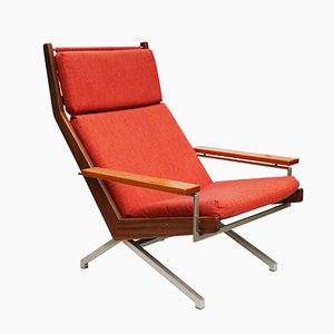 Vintage Lotus Teak Easy Chair by Rob Parry for De Ster Gelderland