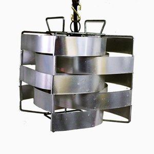 Lampe à Suspension Cube par Max Sauze, 1970s