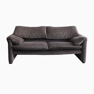Vintage Maralunga 2-Seater Sofa by Vico Magistretti for Cassina
