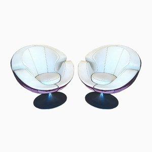 Chaises Pivotantes, 1960s, Set de 2