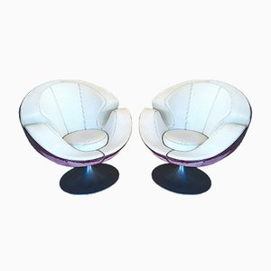 Scandinavian Swivel Chairs, 1960s, Set of 2