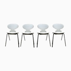 Ant Chairs by Arne Jacobsen for Fritz Hansen, 1952, Set of 4