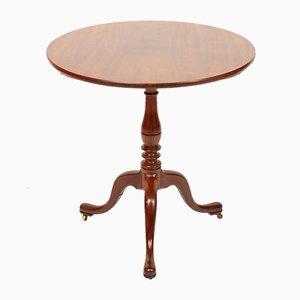 Tavolino pieghevole antico