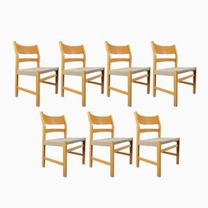 Chaises de Salon Koldinghus par Hans J. Wegner Koldinghus pour Getama, Set de 7