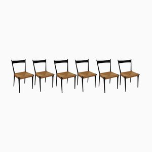 Vintage Dining Chairs by Alfred Hendrickx for Belform, Set of 6