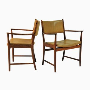 Rosewood Armchairs by Kai Lyngfeldt Larsen for Soren Willadsen, 1960s