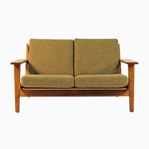 Modell Ge 290/2 Sofa von Hans J Wegner für Getama, 1950er