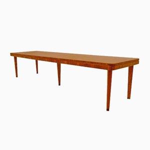 Tavolo da conferenze in vari legnami, anni '40