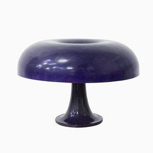 Lámpara Nesso morada de Giancarlo Mattioli para Artemide, años 60