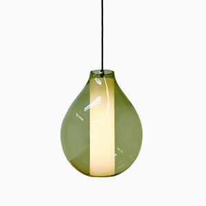 Mid-Century Drop Pendant by Carl Fagerlund for Orrefors