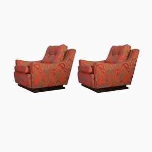 Art Deco Chairs, 1940s, Set of 2
