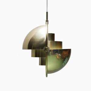 Multi-Lite Pendant by Louis Weisdorf for Lyfa, 1970