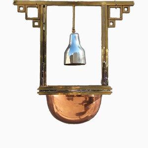 Lámpara de araña de Romeo Rega para Metalarte, años 70