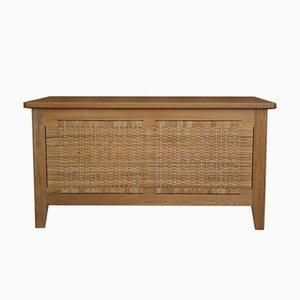 Coffre pour Couette Modèle PH52 en Chêne par Kaj Winding pour Poul Hundevad, 1960s