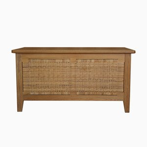 Model PH52 Oak Blanket Box by Kaj Winding for Poul Hundevad, 1960s