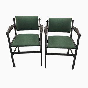 Chaises Vertes, 1960s, Set de 2