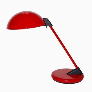 Rote Schreibtischlampe von Lightolier, 1970er