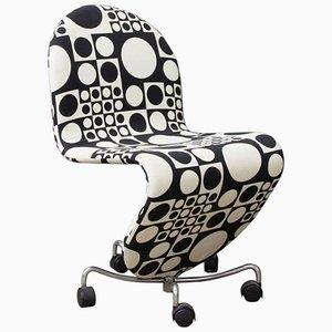 Chaise de Bureau 1 2 3 Series par Verner Panton, 1970s
