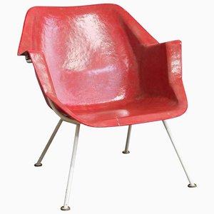 Sedia modello nr. 416 di Wim Rietveld & André Cordemeyer per Gispen, 1957