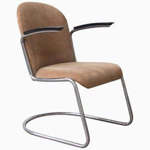 Vintage Model 413 Easy Chair by W.H. Gispen