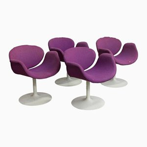 Lounge Chairs by Pierre Paulin for Artifort, 1965, Set of 4