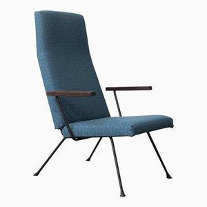 Blauer 140 Sessel von Cordemeyer für Gispen, 1960er